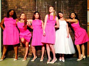 PIC: Lea Michele, Glee Cast Recreate Iconic Bridesmaids Poster