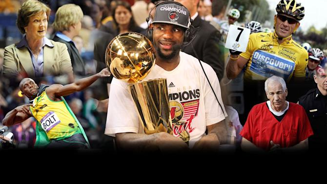 Yahoo! Sports 2012 Year in Review - Top Stories