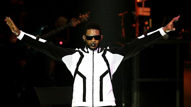(BELVEDERE) RED Launches With Usher - Inside