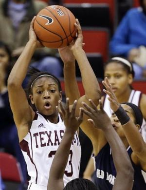 No. 22 Texas A&M women beat Old Dominion 78-55