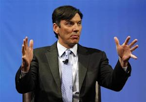 Chairman and CEO of AOL Tim Armstrong speaks during a panel session at The Cable Show in Boston