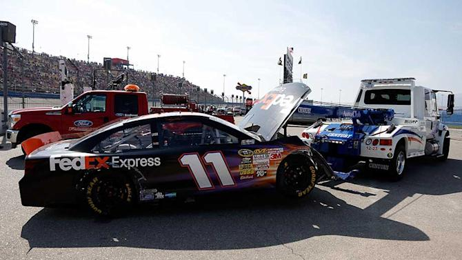 Hamlin suffers L1 compression fracture