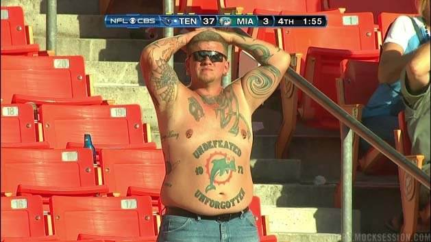 Miami Dolphins fan