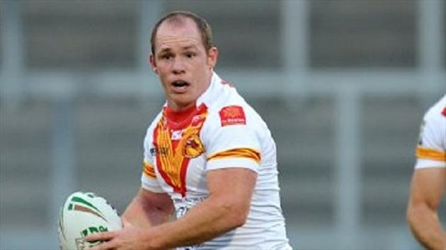 Ben Fisher played for Catalan Dragons last year
