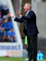 Ally McCoist saw his team blow their chance to go top of the table