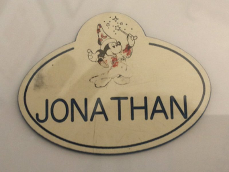 Jon Steinberg Disney badge