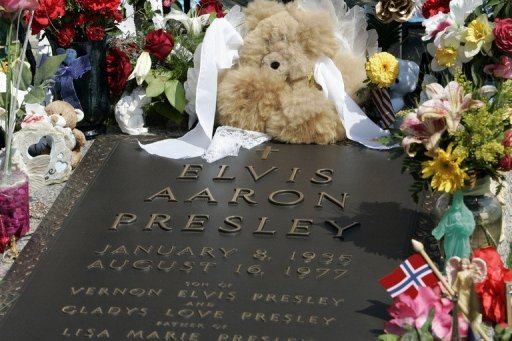 Since Elvis Presley's remains were moved to Graceland, the crypt has remained vacant