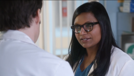 Mindy makes up with Tom