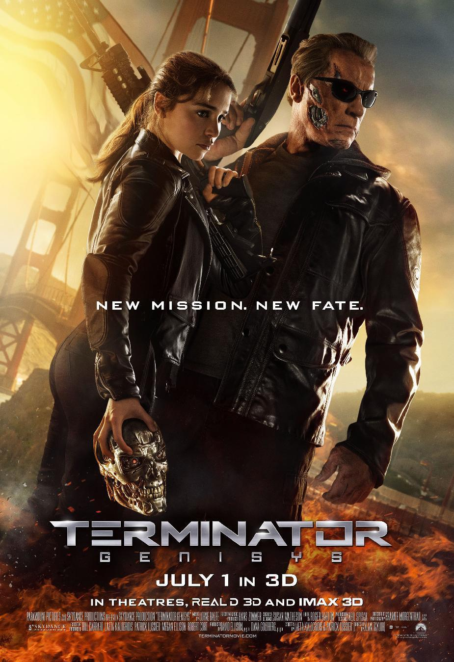 'Terminator Genisys' climbs to the top of the weekend box office