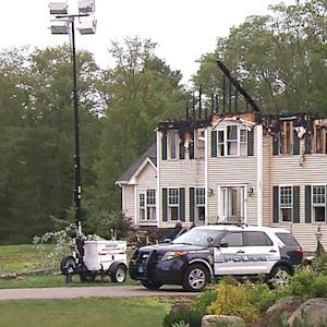 Three killed after plane crashes into Massachusetts home