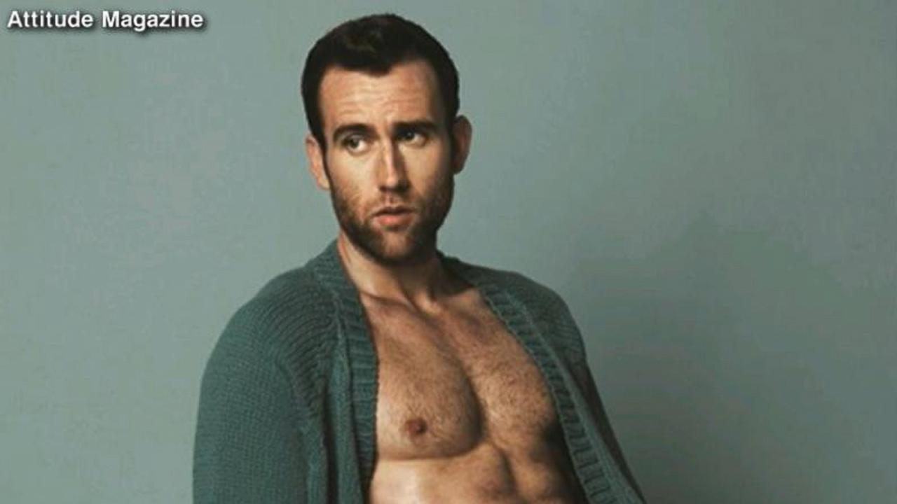 Matthew Lewis' Revealing Photoshoot