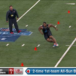 2014 Combine workout: Ryan Carrethers