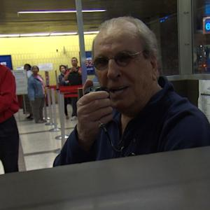 Danny Aiello, bus announcer