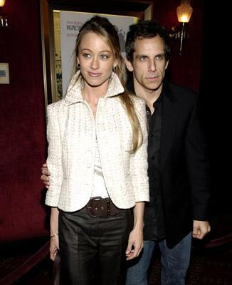 Christine Taylor and Ben Stiller at the New York premiere of MGM/Columbia Pictures' The Pink Panther