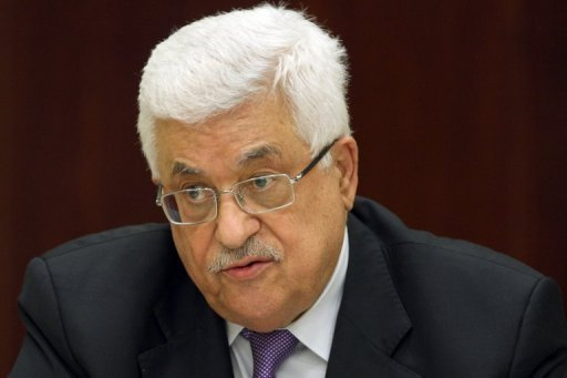 Palestinian president Mahmud Abbas, seen here in May 2012, will hold talks with Israeli vice prime minister Shaul Mofaz, according to a report by the Palestinians&#39; WAFA news agency