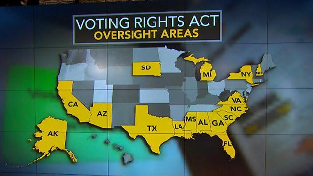 Civil rights-era voting law gets Supreme Court challenge
