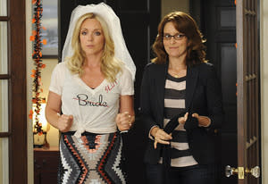 Jane Krakowski and Tina Fey | Photo Credits: Ali Goldstein/NBC