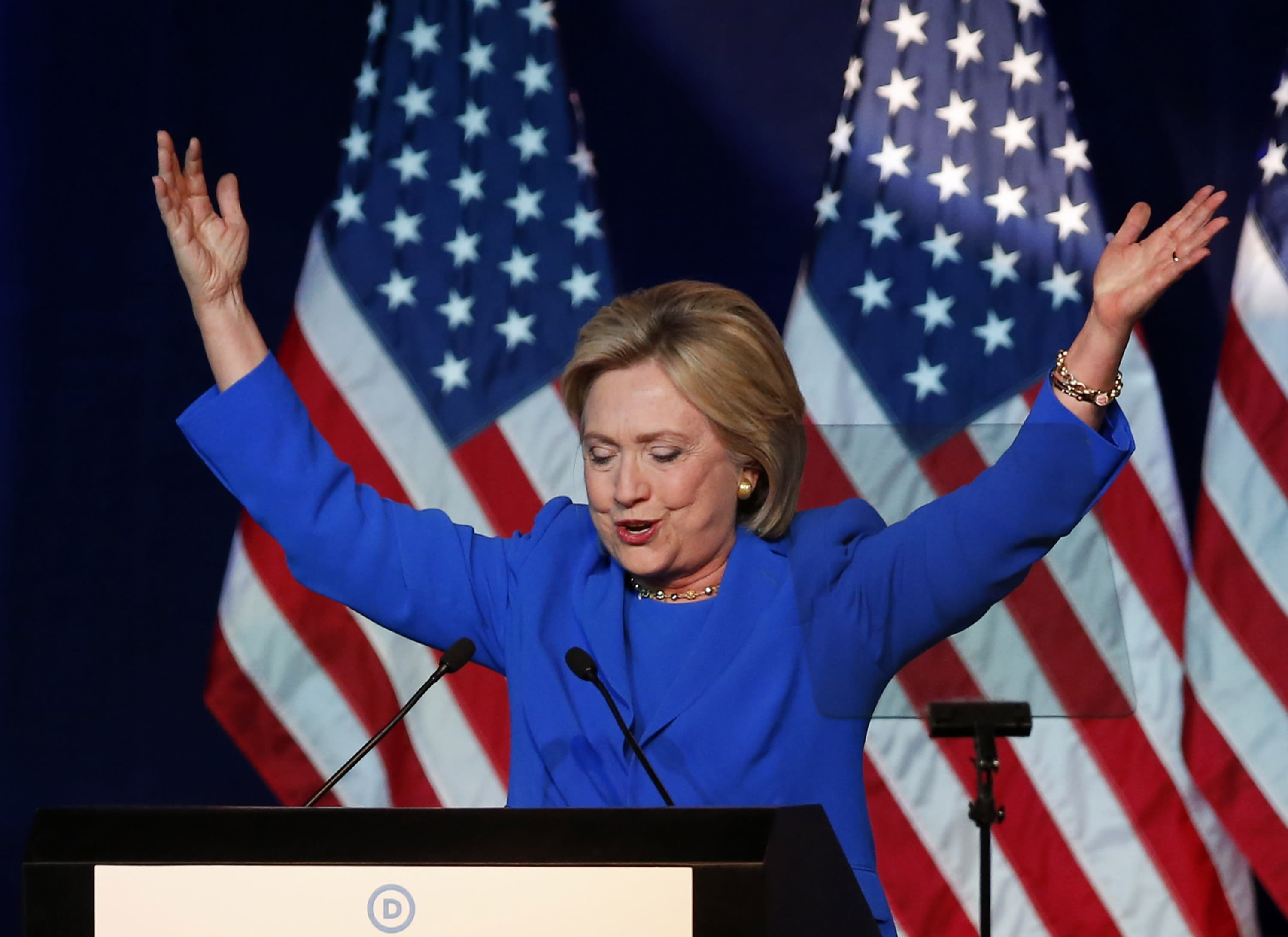 Hillary Clinton's defense of her personal email server just got a little weaker