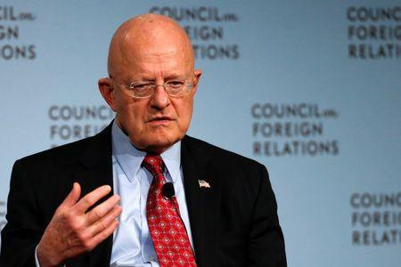 Cyber a top national security threat to U.S.: intelligence director