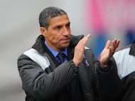 Birmingham have agreed to let Chris Hughton and three of his backroom staff join Norwich