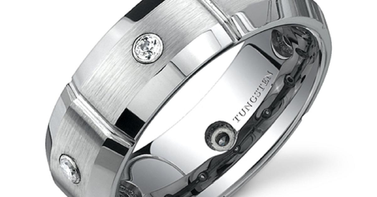Handsome Tungsten Rings Under $50 - Free Shipping