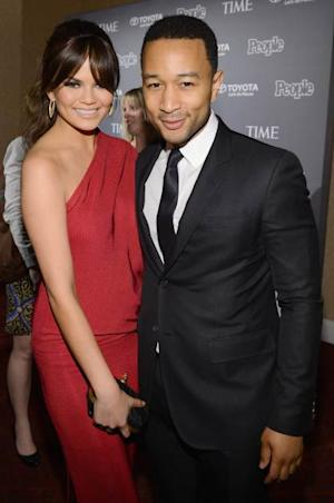 Chrissy Teigen and John Legend   -- Getty Images