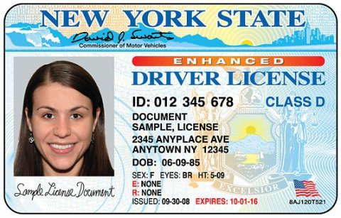 ny drivers license id new york