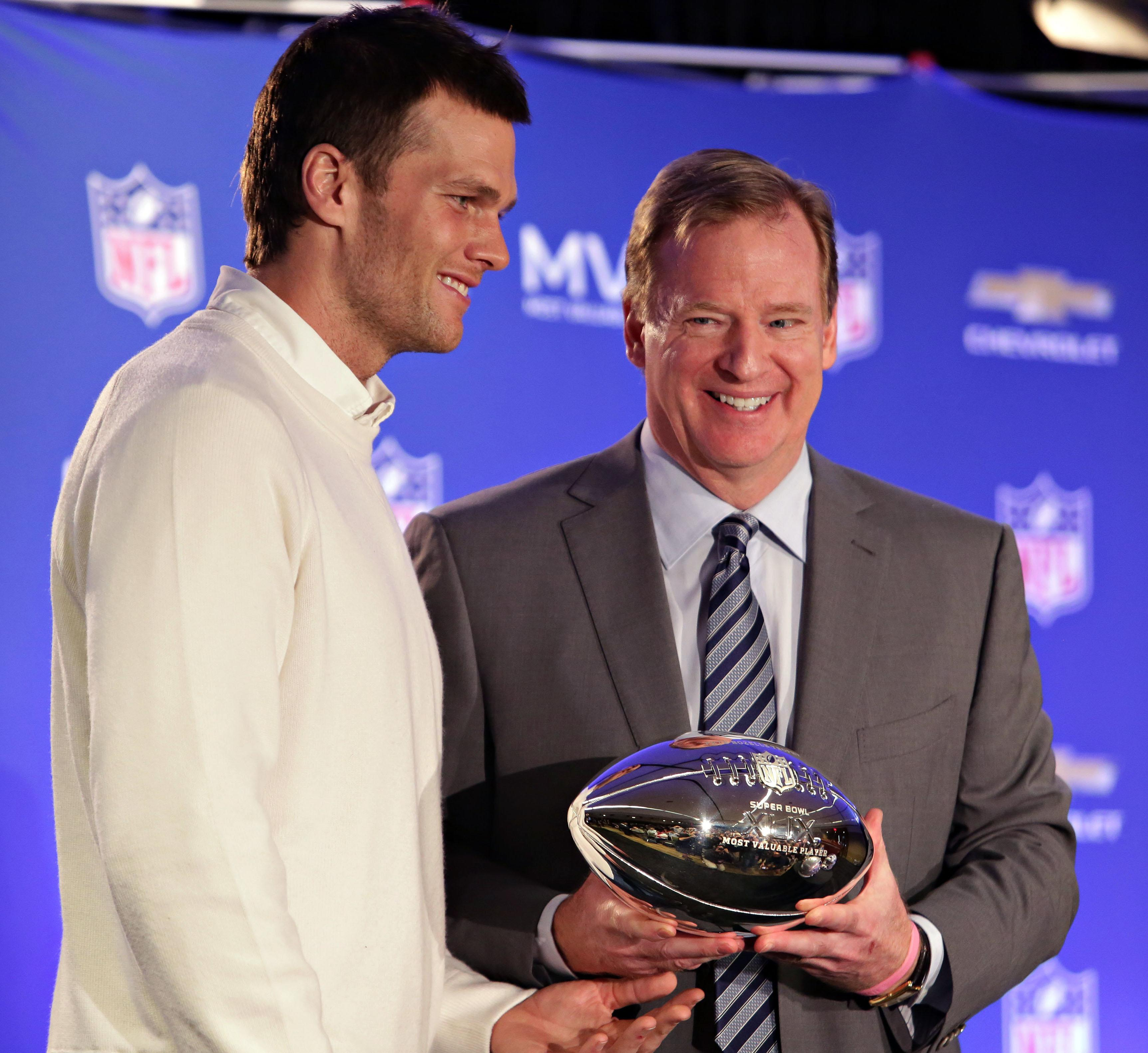 Goodell makes it official: He will hear Brady's appeal