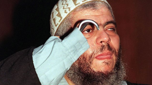 Accused Terrorist Abu Hamza en Route to US (ABC News)