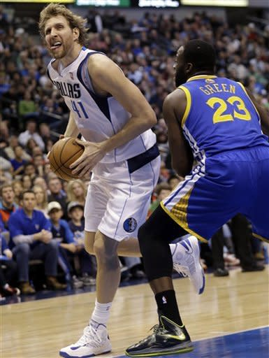 Marion, Mavericks down slumping Warriors 116-91