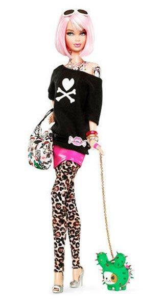 Funky Fashionista Barbie, Barbie pertama yang bertato (2011)