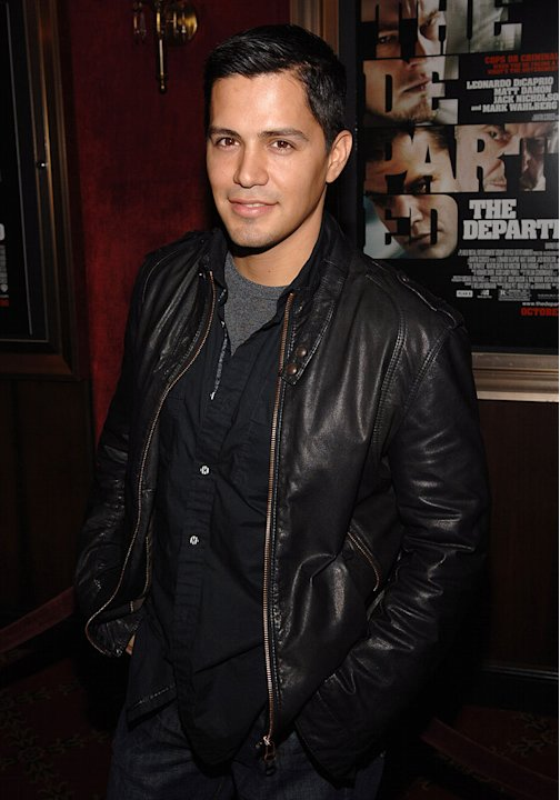"Jay Hernandez at the New York Premiere of ""The Departed"" to Benefit the Film Foundation.  September 26, 2006"