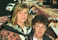 Linda and Paul McCartney in Paris on October 13, 1993. Sir Paul has recorded a song for a new TV advert to promote his late wife Linda's vegetarian food range, the company which makes the food confirmed on Friday as it posted a YouTube clip of the song