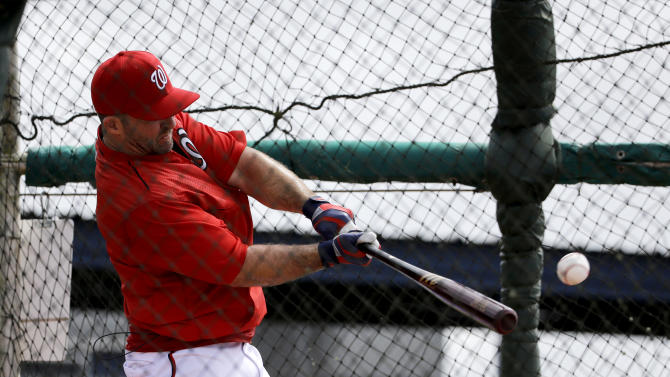 Nationals 2B Uggla again seeing the ball well