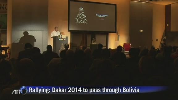 Dakar 2014 to pass through Bolivia