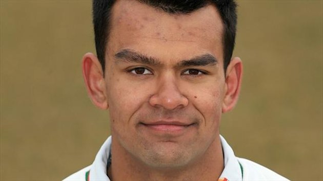 Shiv Thakor scored an unbeaten 52 prior to the declaration