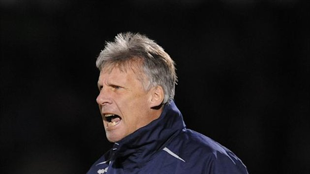 John Ward has guided Bristol Rovers out of the relegation zone