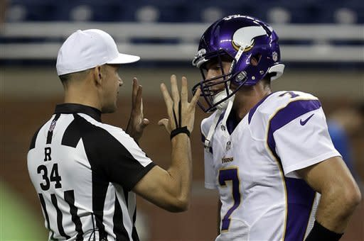 Vikings return KO, punt for TD and top Lions 20-13