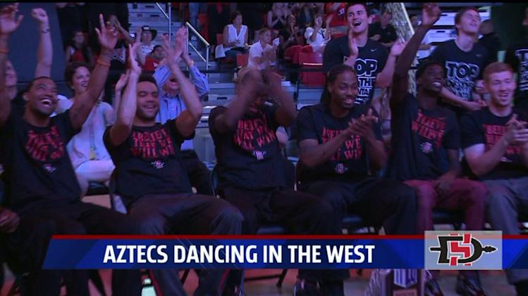 Aztecs To Take On New Mexico State In NCAA Tournament