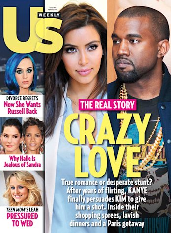 "Kanye West Thinks Kim Kardashian Is ""His Beyonce"""