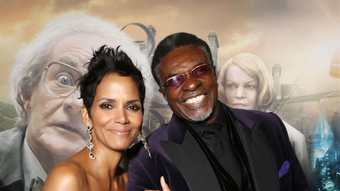Halle Berry and Keith David arrive at the Los Angeles premiere of 'Cloud Atlas' at Grauman's Chinese Theatre on October 24, 2012 in Hollywood, California.  (Photo by Todd Williamson/Invision/AP Images)