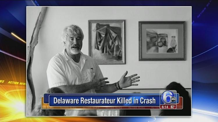 Del. restaurateur dies after motorcycle accident