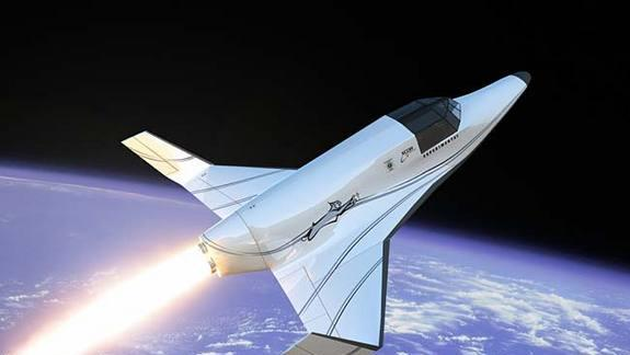 New Rocket Plane to Begin Space Tourist Launches in 2014