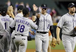 Tulowitzki helps Rockies beat Diamondbacks 6-3