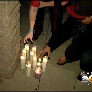 Students, Loved Ones Gather In Remembrance Of Placentia Teacher Found Hanging In High School Classroom