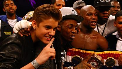 Justin Bieber Joins Team Mayweather?