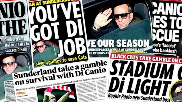 Paolo Di Canio - papers April 1