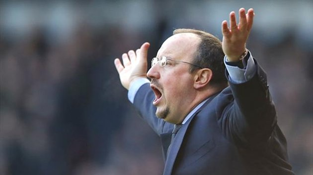 Chelsea manager Rafa Benitez
