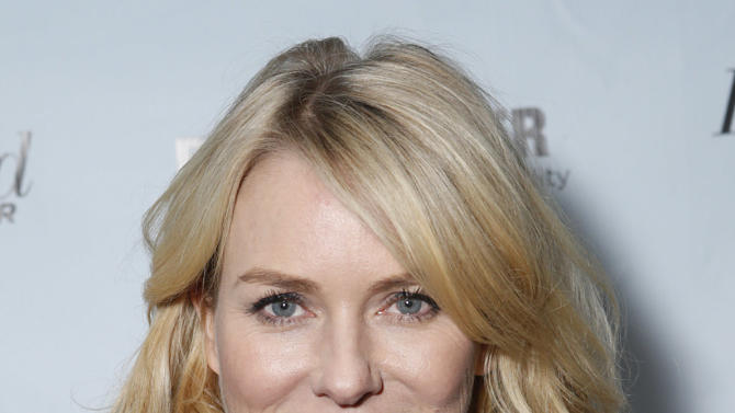 Naomi Watts is seen at The Hollywood Reporter's Palm Springs Shuttle presented by Bombardier Business Aircraft - Day 2, on Saturday, January 5, 2013 in Palm Springs, California. (Photo by Todd Williamson/Invision for Bombardier/AP Images)