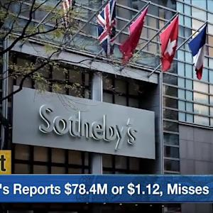 Sotheby's Earnings Hit By Management Change and Investor Activism